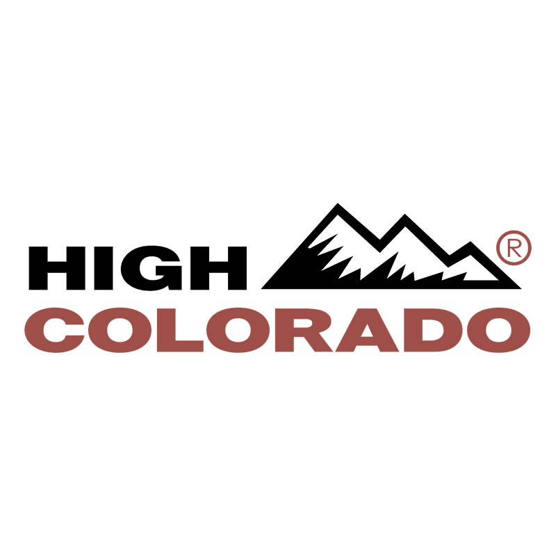 High Colorado vector