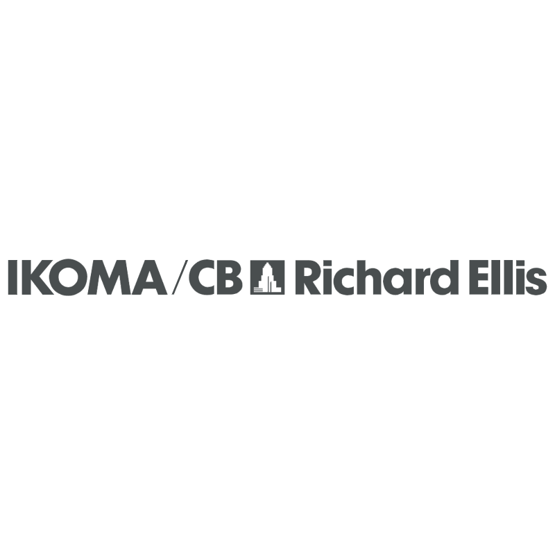 IKOMA CB Richard Ellis vector logo