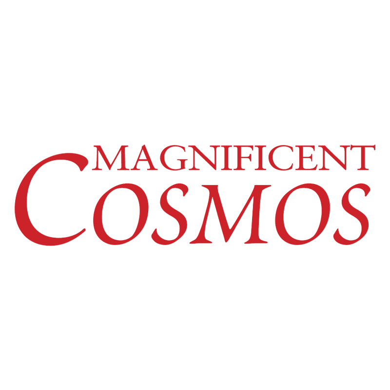 Magnificent Cosmos vector logo