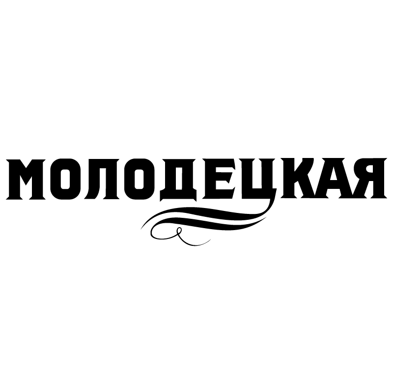 Molodetskaya Vodka vector logo