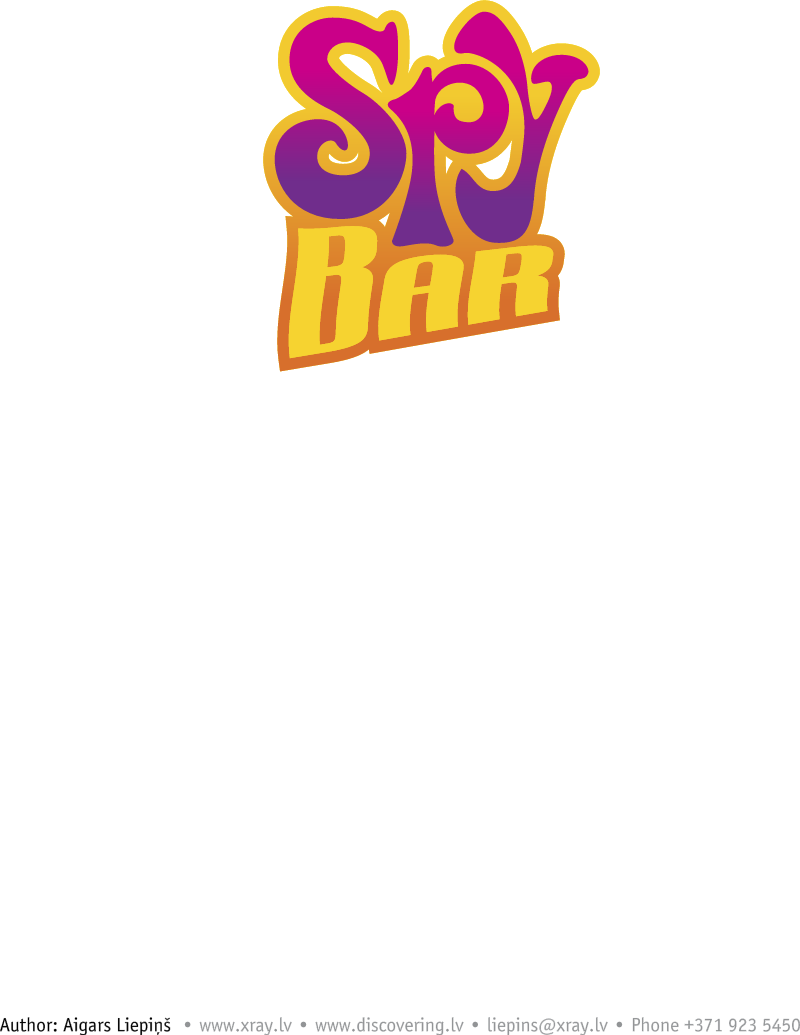 Spy Bar logo