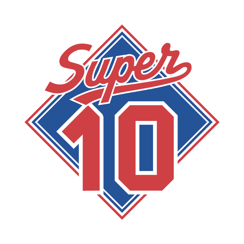 Super 10 vector logo