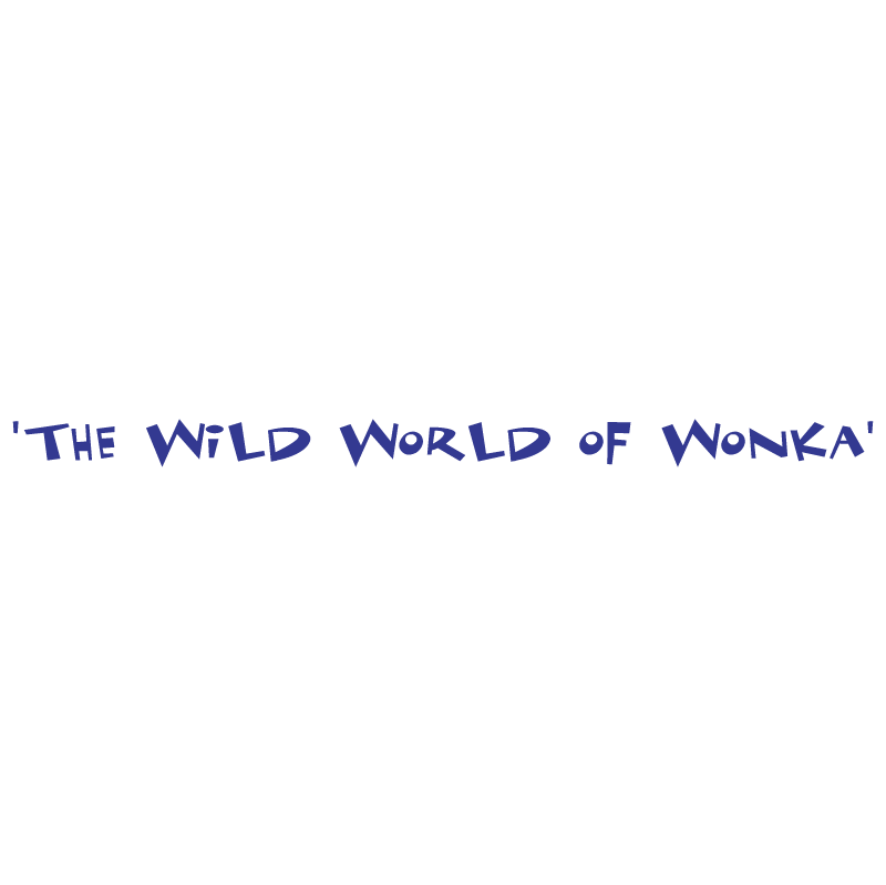 The Wild World of Wonka vector