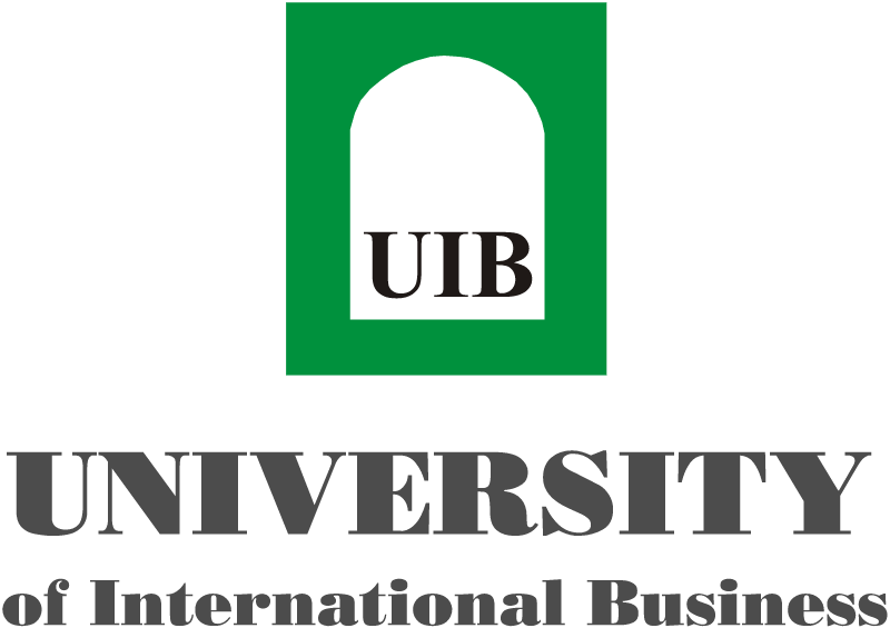 UIB University of International Business vector logo