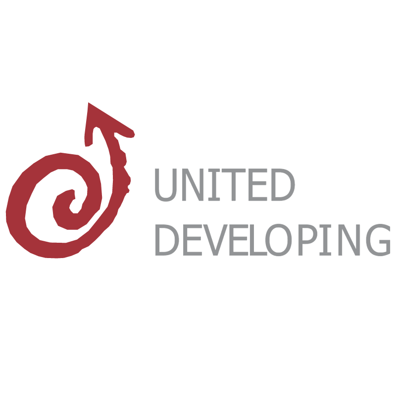 United Developing vector logo