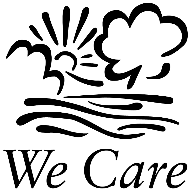 We Care vector logo