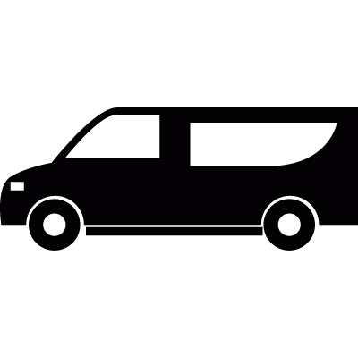 People carrier vector logo