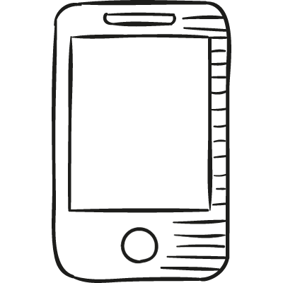 Smartphone Drawed logo