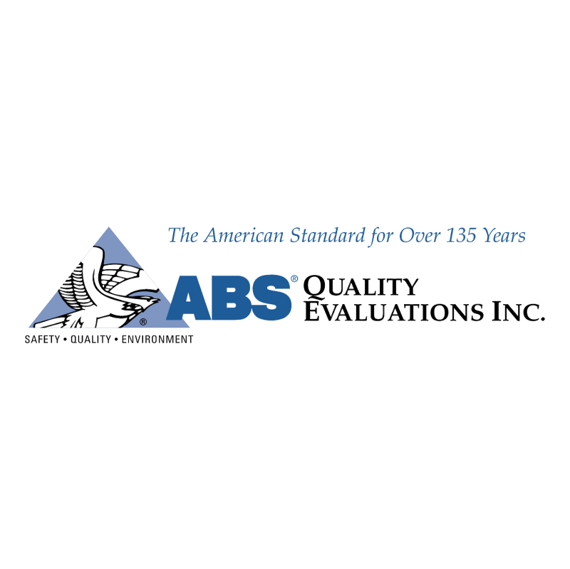 ABS Quality Evaluations 52269 vector logo
