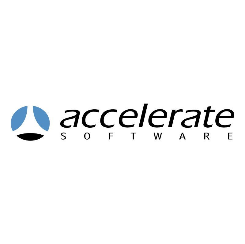 Accelerate Siftware 79670 vector logo