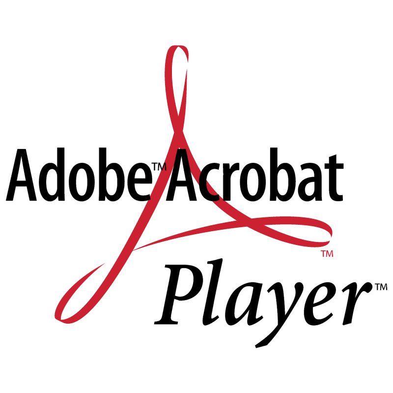 Adobe Acrobat Player vector
