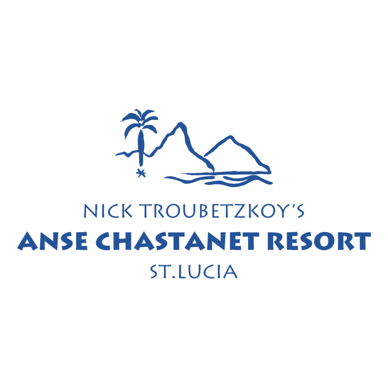 Anse Chastanet Resort vector