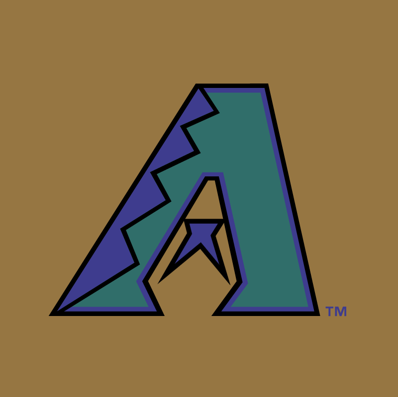 Arizona Diamond Backs 73331 vector