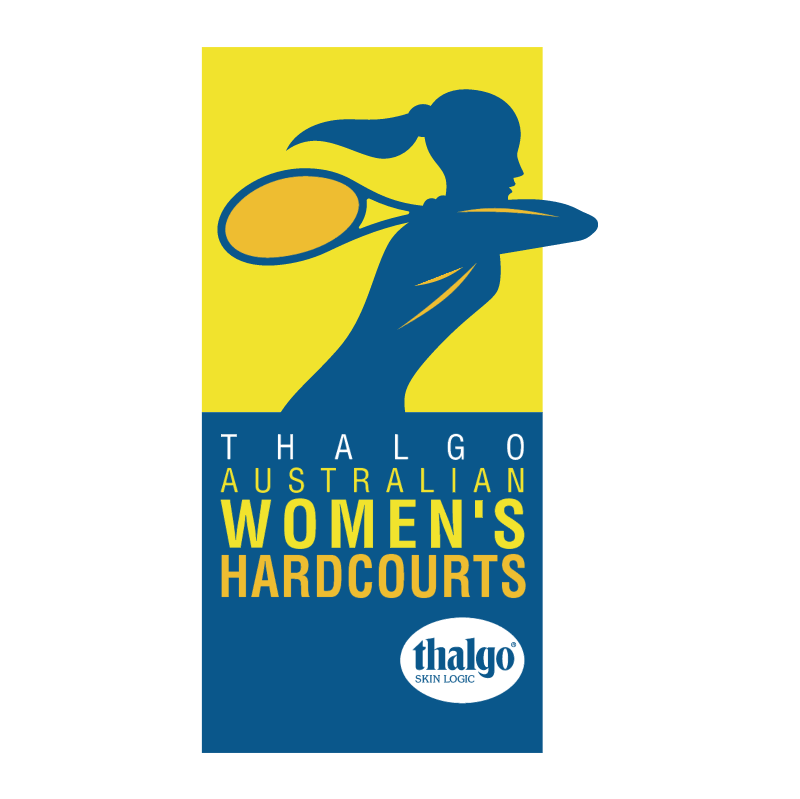 Australian Women's Hardcourts vector