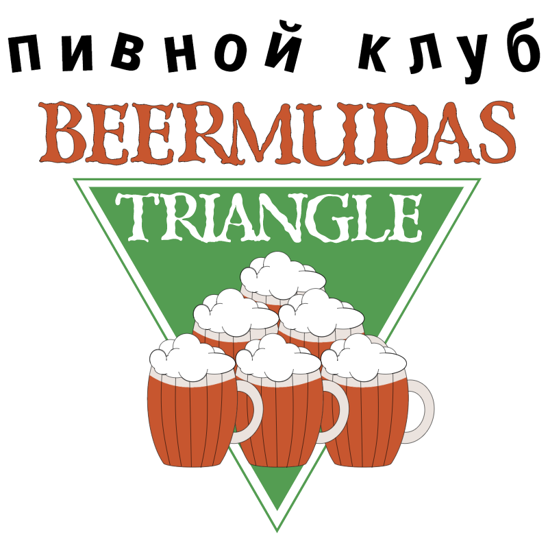 Beermudas Triangle vector