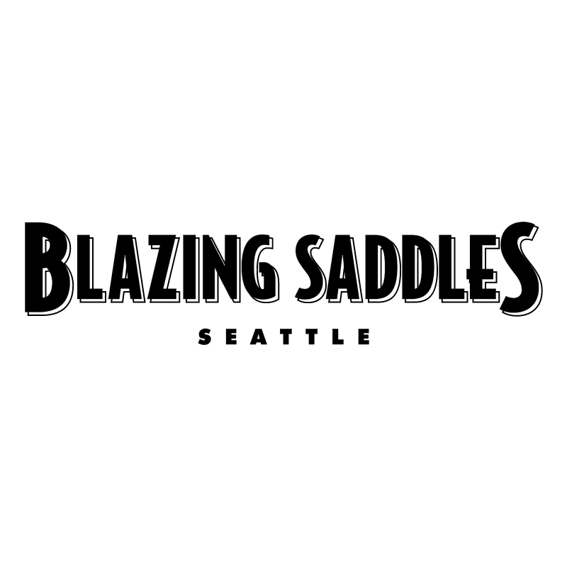 Blazing Saddles 39087 logo