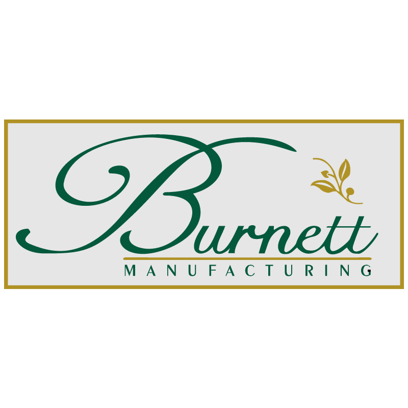 Burnett Manufacturing 6150 vector logo