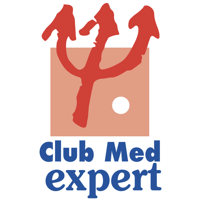 Club Med Expert vector logo