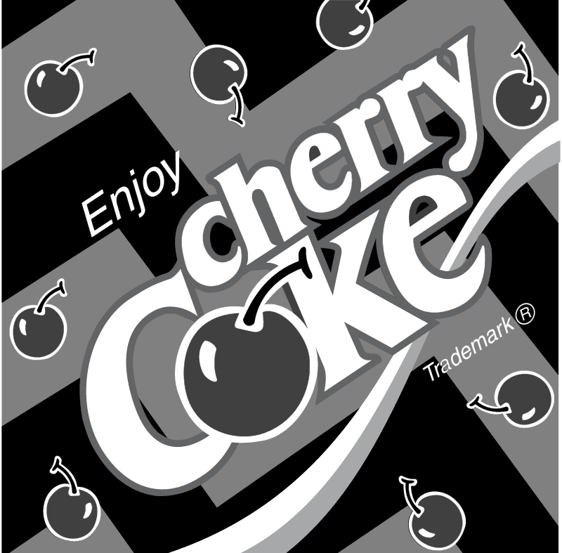 Coca Cola Cherry 2 vector