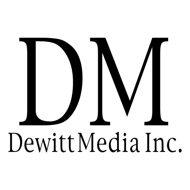 Dewitt Media vector logo