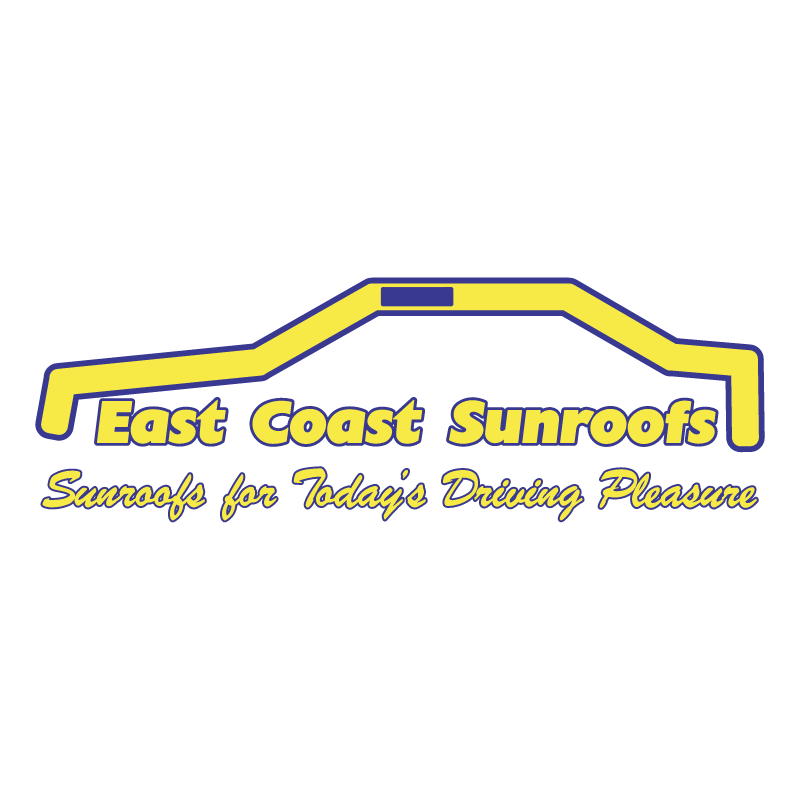 East Coast Sunroofs vector logo