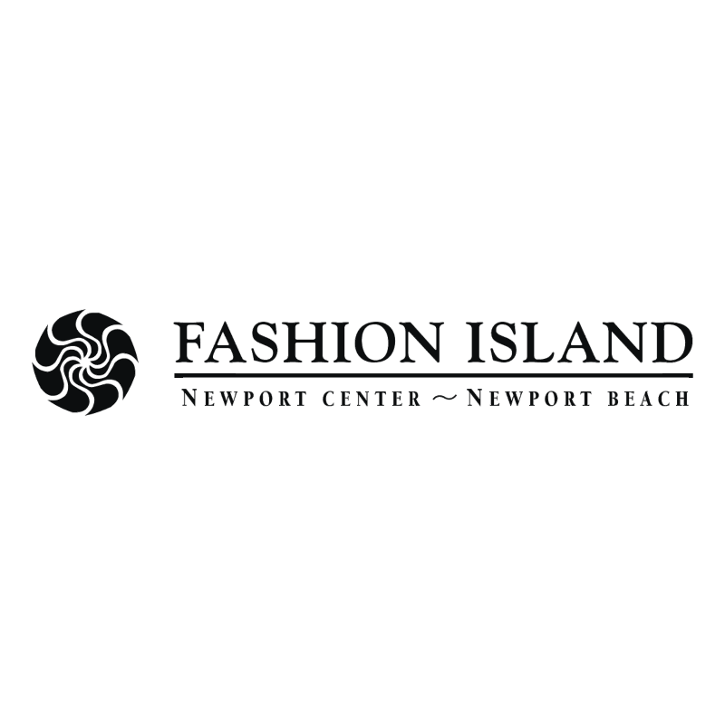 Fashion Island vector logo
