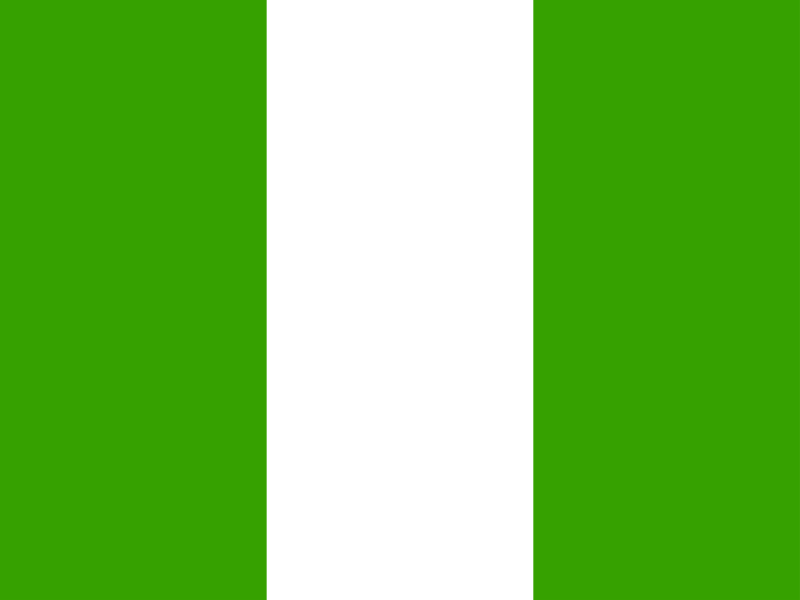Flag of Nigeria vector logo