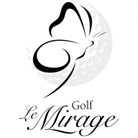 Golf Le Mirage vector