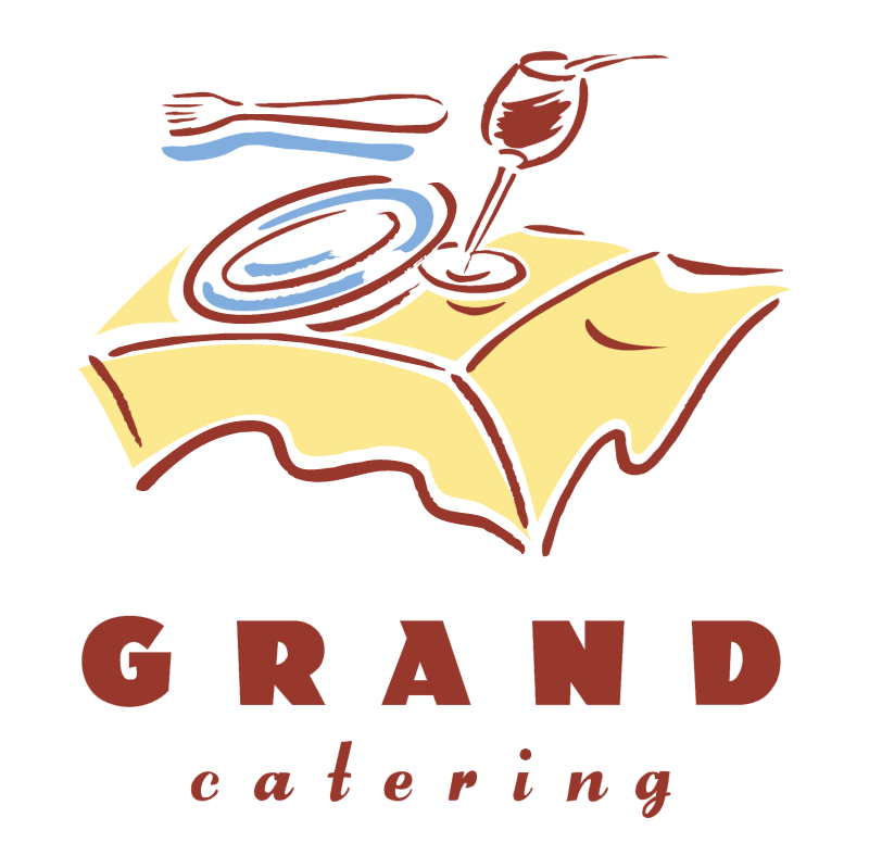Grand Catering vector logo