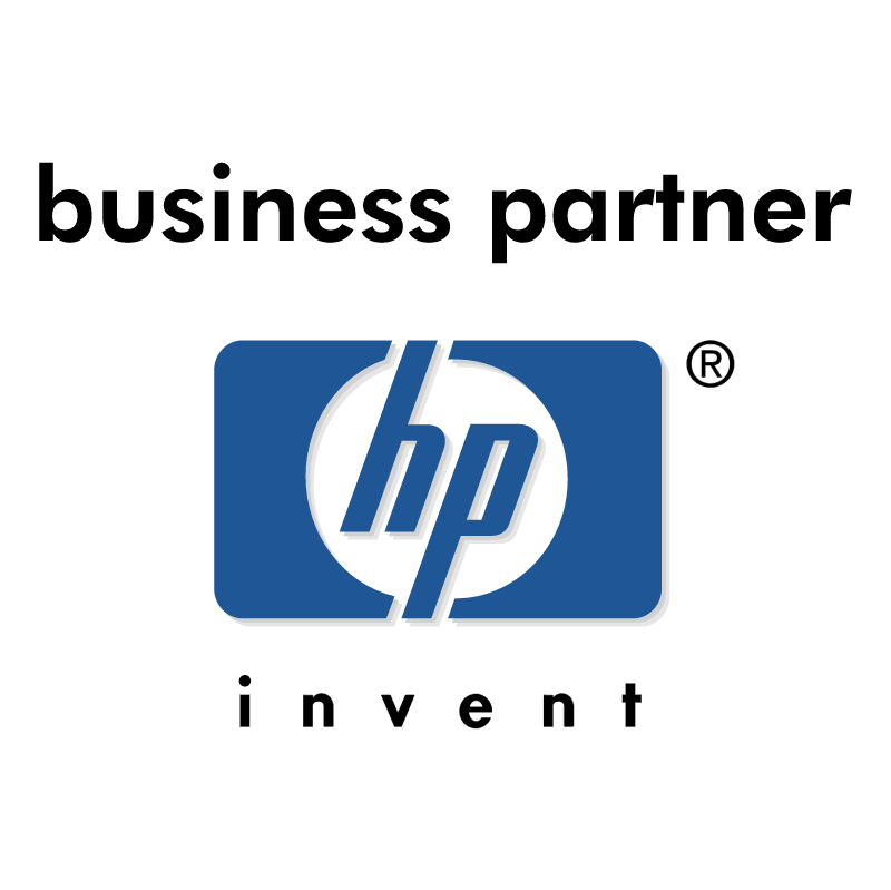 Hewlett Packard Business Partner logo