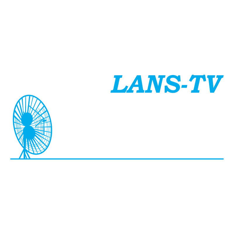 Lans TV vector