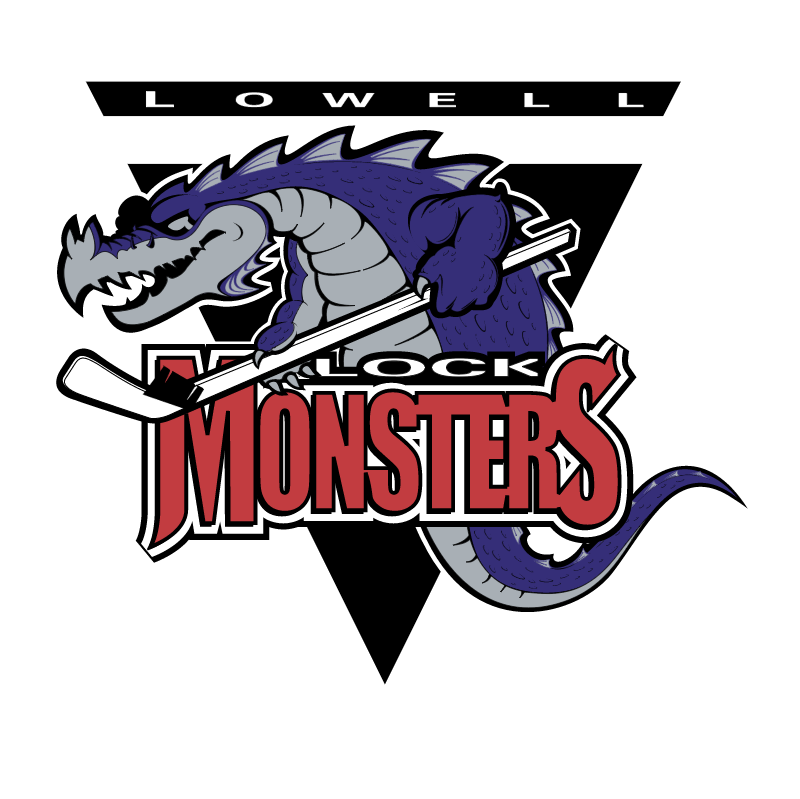 Lowell Lock Monsters vector