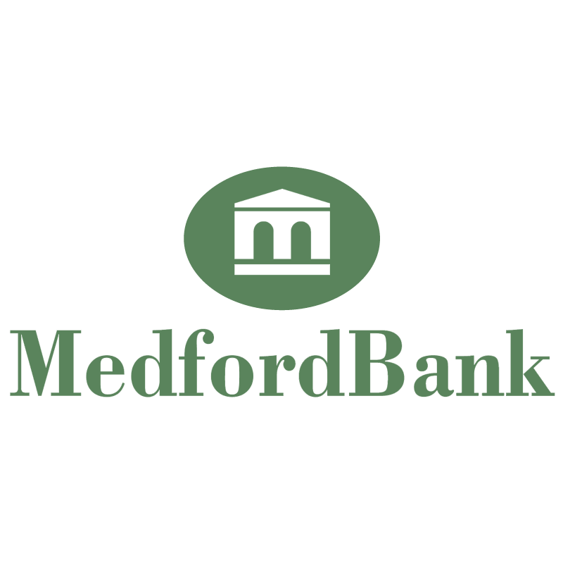 Medford Bank vector logo