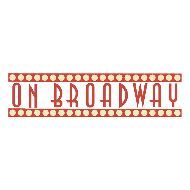 On Broadway vector
