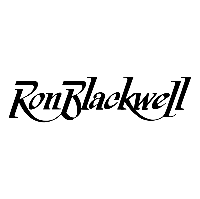 Ron Blackwell vector