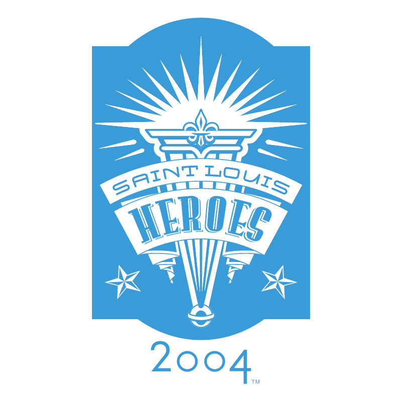 Saint Louis Heroes 2004 vector logo