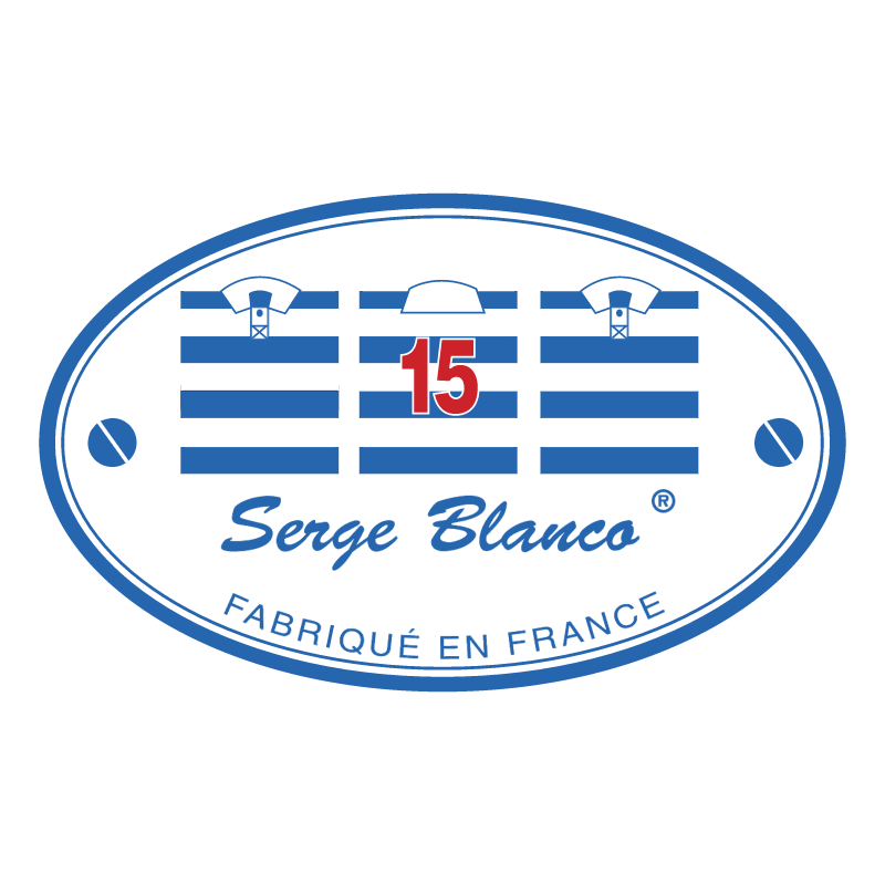 Serge Blanco vector