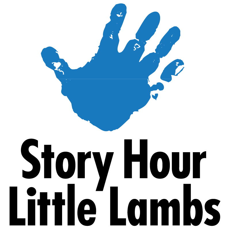 Story Hour Little Lambs vector