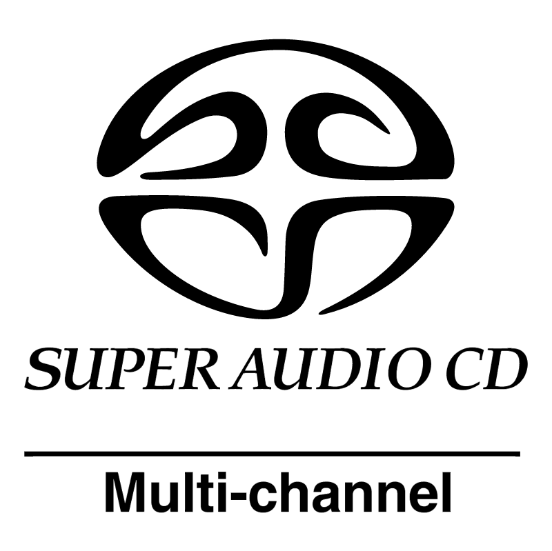 Super Audio CD vector