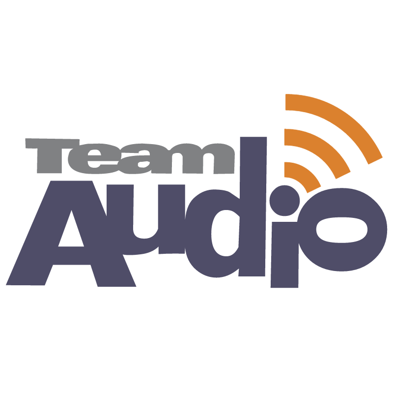 Team Audio vector