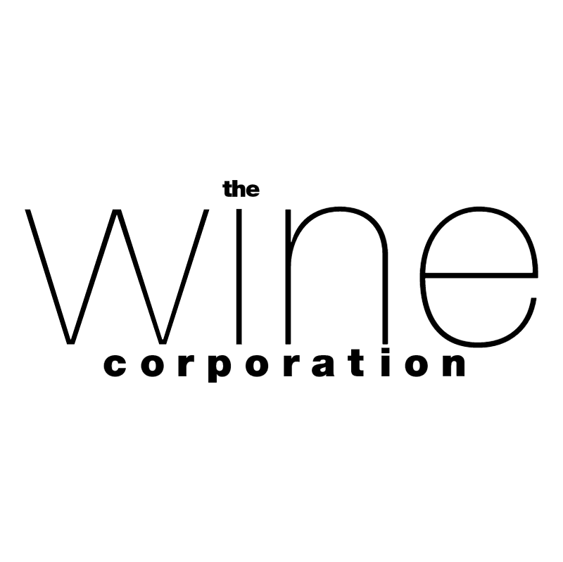 The Wine Corporation vector