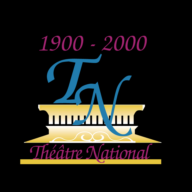 Theatre National vector