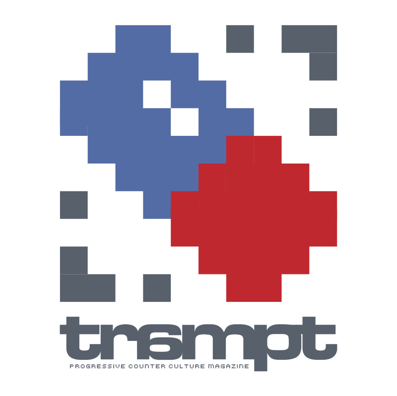 trampt magazine vector logo