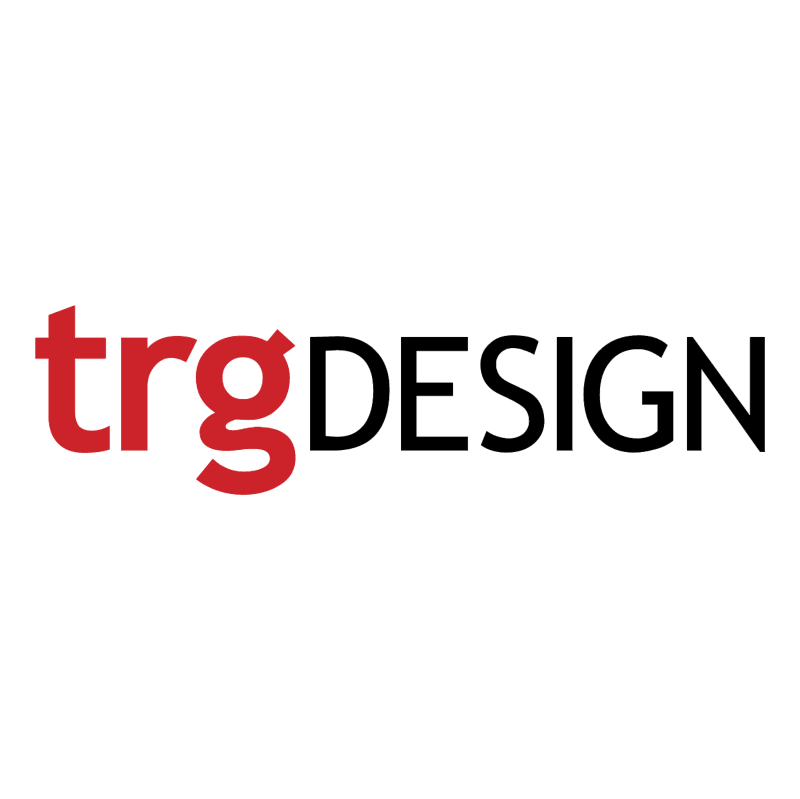 TRG Design vector logo