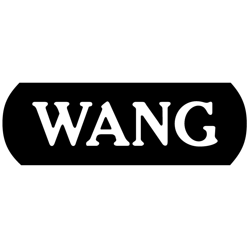 Wang Computers vector