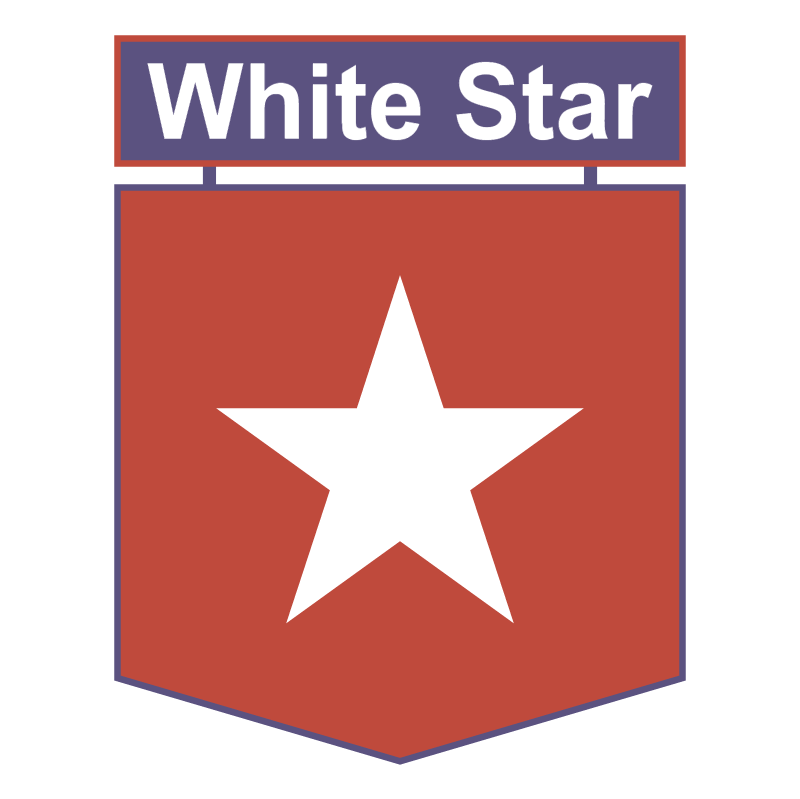 White Star vector logo