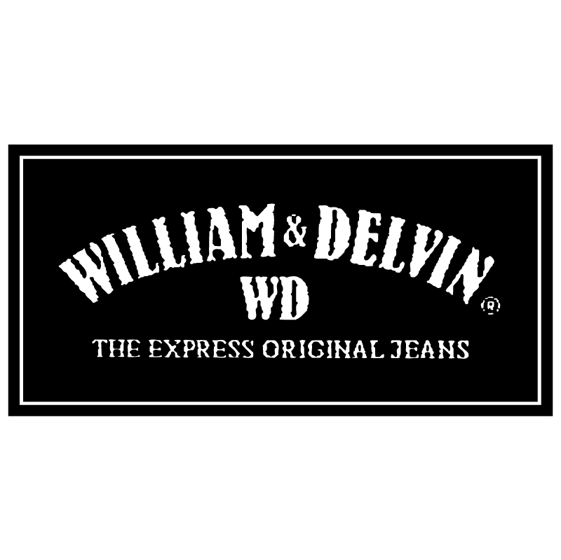 William & Delvin vector
