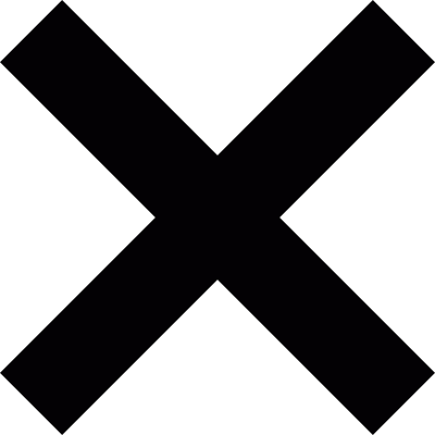 Cancel cross logo