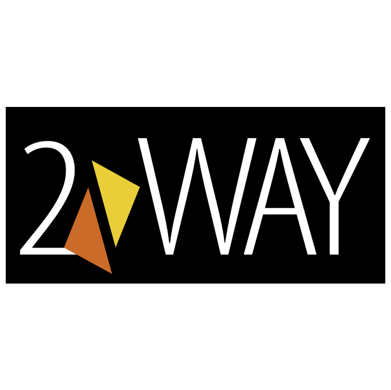 2 Way vector logo