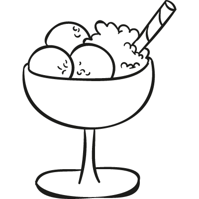 Ice Cream Balls Cup logo